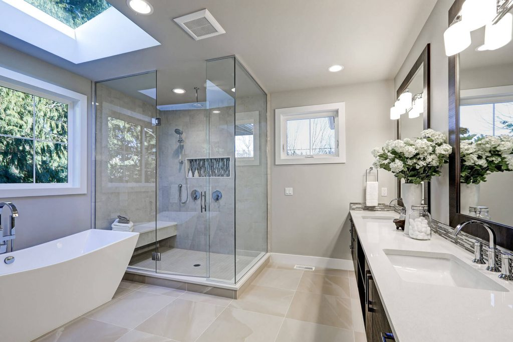 bathroom renovation as can be done by a plumber